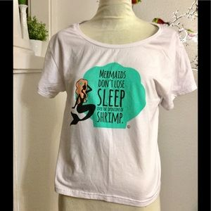 sincerely sweet Tops - Sincerely Sweet Mermaid Quote Shirt May be S